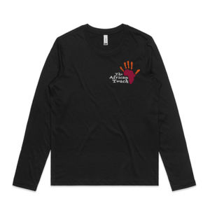 The African Touch - Womens Chelsea Long Sleeve Tee Thumbnail