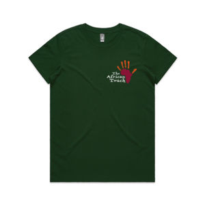 The African Touch - Womens Maple Tee Thumbnail