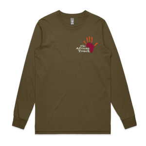 The African Touch - Mens Base Longsleeve Tee Thumbnail